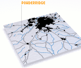 3d view of Powder Ridge