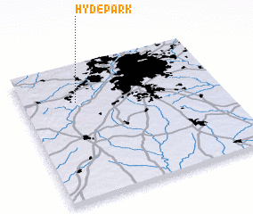 3d view of Hyde Park