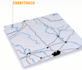3d view of Rabbit Hash