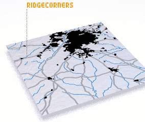 3d view of Ridge Corners