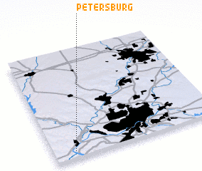 3d view of Petersburg