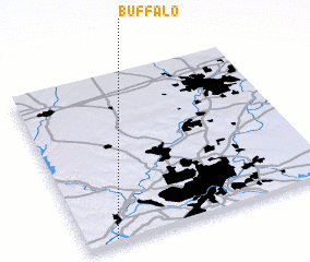 3d view of Buffalo