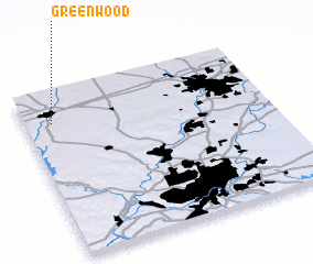 3d view of Greenwood