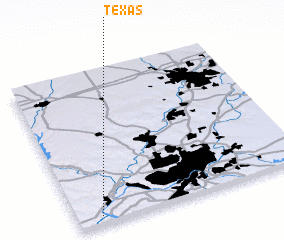 3d view of Texas