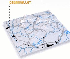 3d view of Cedar Valley