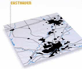 3d view of East Haven