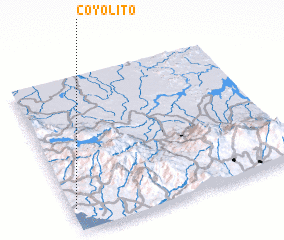 3d view of Coyolito