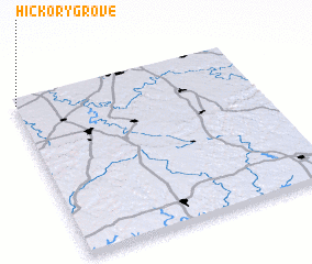 3d view of Hickory Grove