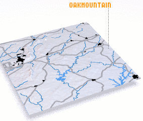 3d view of Oak Mountain