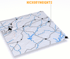 3d view of Hickory Heights