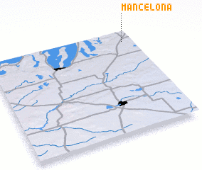 3d view of Mancelona