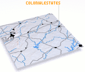 3d view of Colonial Estates