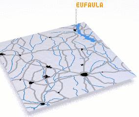 3d view of Eufaula