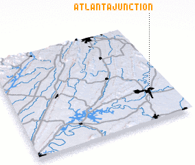 3d view of Atlanta Junction