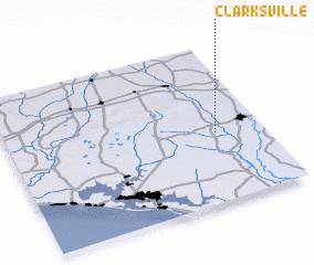 3d view of Clarksville