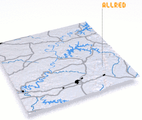3d view of Allred