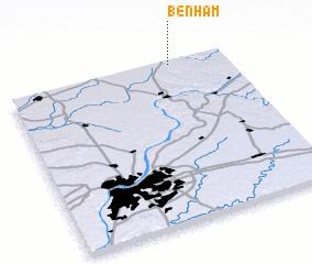 3d view of Benham