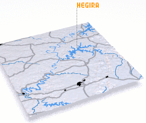 Hegira (United States - USA) map - nona.net Hegira Map