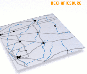 3d view of Mechanicsburg
