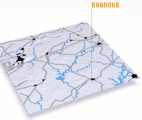 3d view of Roanoke
