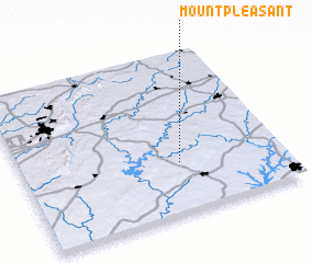 3d view of Mount Pleasant