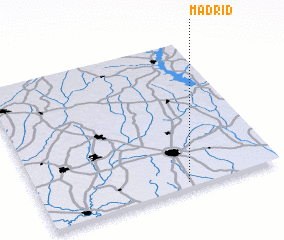 3d view of Madrid