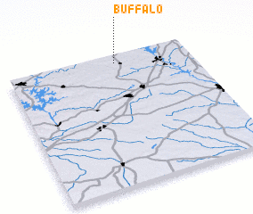3d view of Buffalo