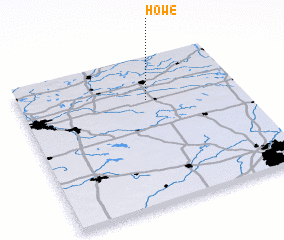 Howe Indiana Map.Howe United States Usa Map Nona Net