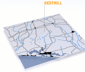 3d view of Kent Mill