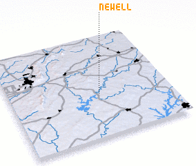 3d view of Newell