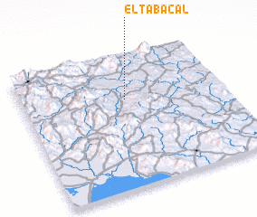 3d view of El Tabacal