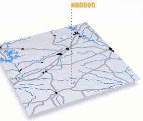 3d view of Hannon