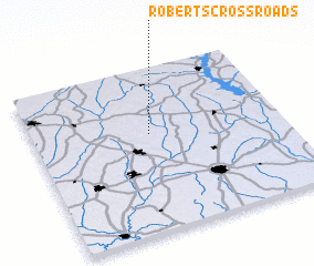 3d view of Roberts Crossroads