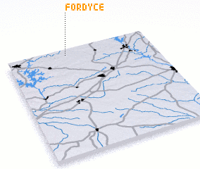 3d view of Fordyce