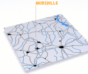 3d view of Akinsville