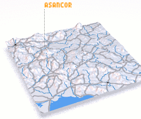 3d view of Asancor