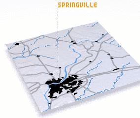 3d view of Springville
