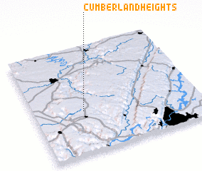 3d view of Cumberland Heights