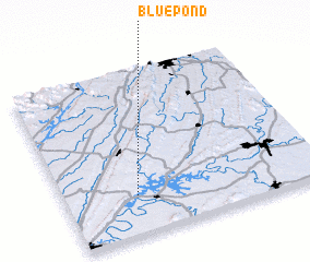 3d view of Blue Pond