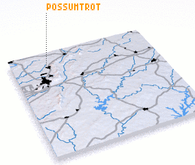 3d view of Possum Trot