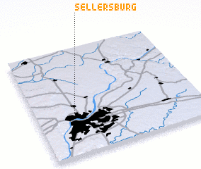 3d view of Sellersburg