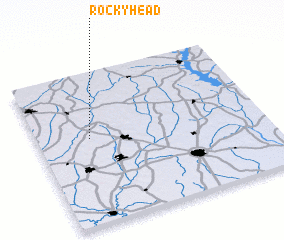 3d view of Rocky Head