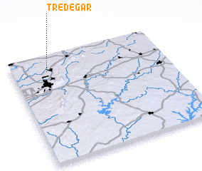 3d view of Tredegar