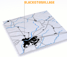 3d view of Blackiston Village