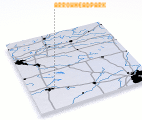 3d view of Arrowhead Park