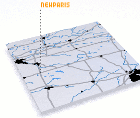 3d view of New Paris