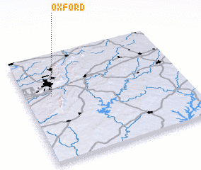 3d view of Oxford