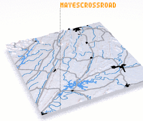 3d view of Mayes Crossroad