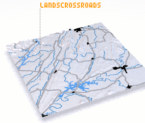 3d view of Lands Crossroads