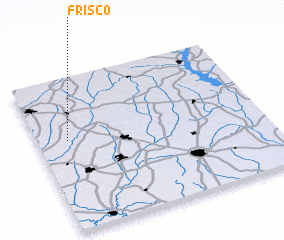3d view of Frisco